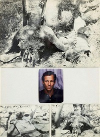 autoportrait (hog ranch) by peter beard