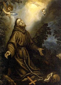 the ecstasy of saint francis by fabrizio boschi