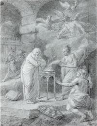 scène de sorcellerie by etienne jeaurat