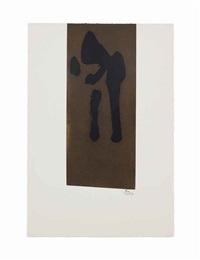 primal sign ii by robert motherwell