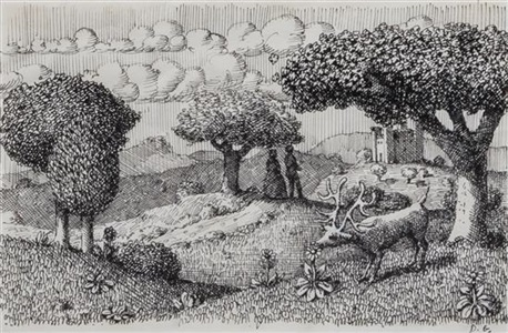artwork by domenico gnoli