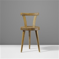 three legged chair by charlotte perriand