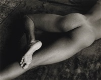 nude foot, san francisco by minor white