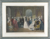 franklin at the court of france by william overend geller