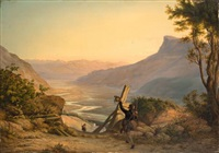 the adige valley by heinrich beck