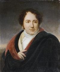 portrait du chanteur luigi lablache by henri françois riesener
