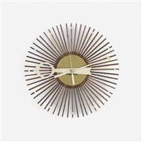 popsicle wall clock, model 2257 by george nelson & associates