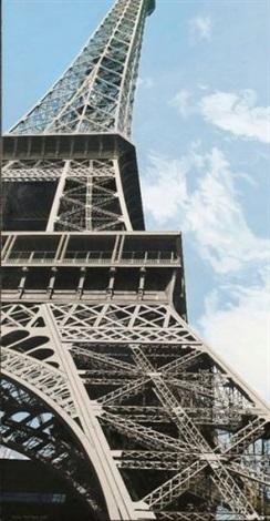 la tour eiffel de robert delaunay by andré raffray