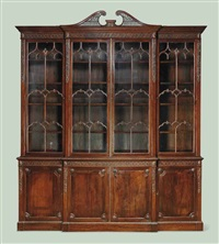 bookcase by thomas chippendale