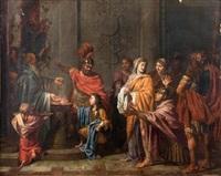 le serment de fidélité by nicolas poussin