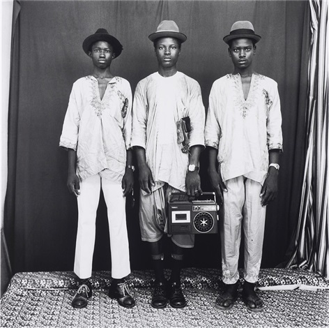 les trois bergers peulhs by malick sidibé