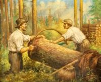 dřevorubci by josef (kamenitzky) steiner