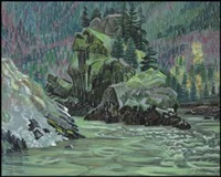 fraser canyon by orville fisher