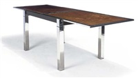 dining table by la metal arredo
