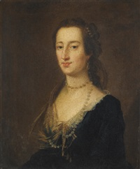 portrait of miss hamilton by john astley