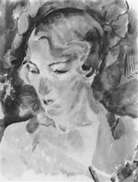 frauenporträt by friedl dicker