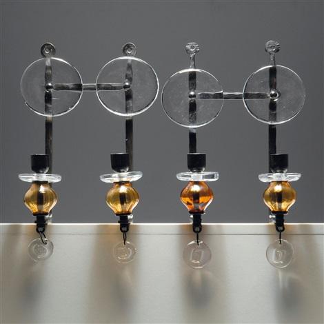 zwei wandappliquen (2 works) by erik höglund