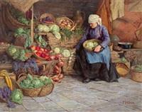 die marktfrau by franz köck