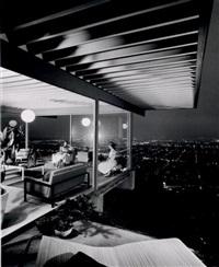pierre koenig, case study house #22, los angeles by julius shulman