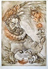 apotheosa rudolf ii by oldrich kulhánek