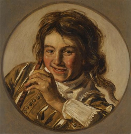 a young boy playing the flute by frans hals the elder