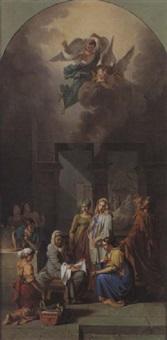 la naissance de la vierge by guillaume-joseph roques