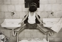 tirza on sinks, israel by ruth orkin
