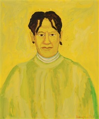 beauford delaney portrait of delia delaney by beauford delaney