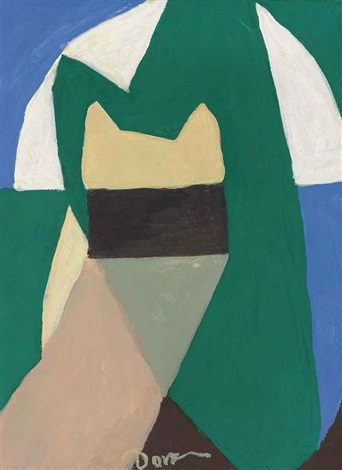 untitled abstraction by arthur dove
