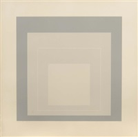 white line square wls-xiv by josef albers