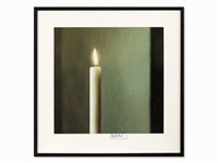 candle by gerhard richter