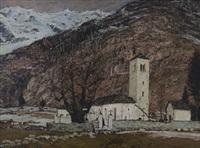 chiesa vecchia a pecetto by sergio albano
