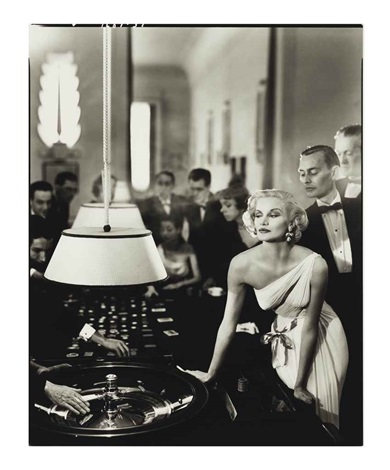 sunny harnett evening dress by grès casino le touquet by richard avedon