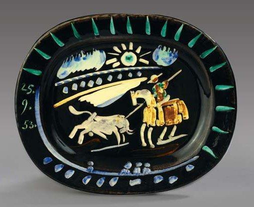 taureau et picador by pablo picasso