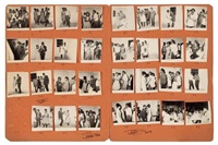 surprise party a l'aragon club (set of 31) by malick sidibé