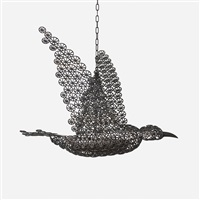bird ceiling lamp from a muriel brandolini interior by francesca amfitheatrof