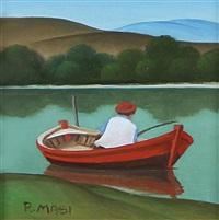 pescatore dalla barca by roberto masi