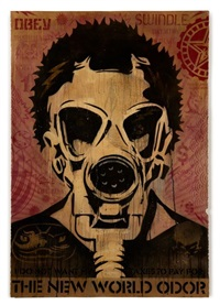 obey new world odor by shepard fairey