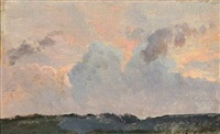 a study of the clouds by janus andreas barthotin la cour