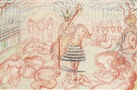 scène de carnaval by james ensor
