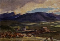 untitled - foothills ranch by henry john simpkins