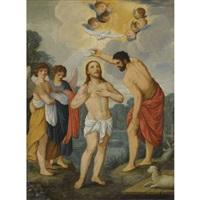 the baptism of christ by johann (hans) konig