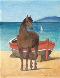 barca e cavallo by roberto masi