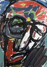 head vii - homage to patrick kavanagh by michael kane