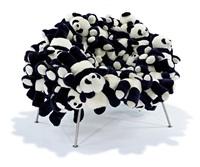 pandas chair by fernando and humberto campana