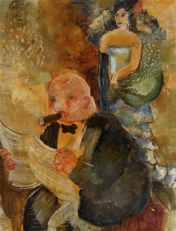 reading the newspaper by annot anna ottonie jacobi