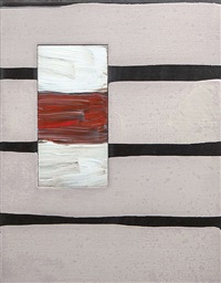 passenger line black by sean scully