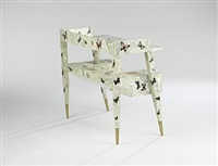 desk by gio ponti and piero fornasetti
