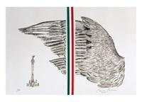 el ala del águila de la independencia by carmen parra