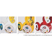 and then... (set of 3) by takashi murakami